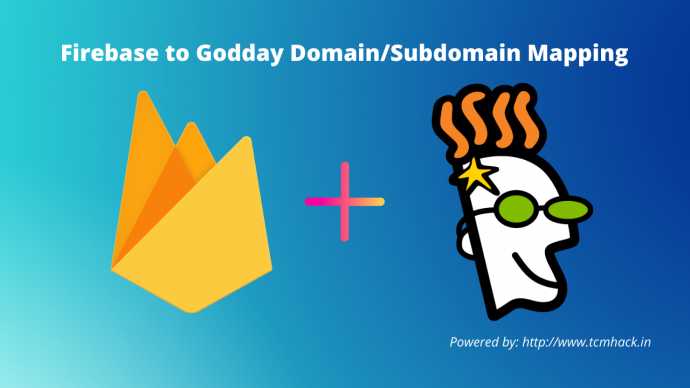 Firebase to goddady doamin mapping